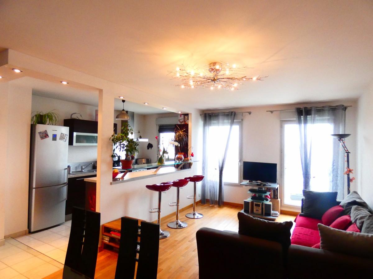 Vente appartement 3 chambres grand balcon parking double - Chambre de commerce pontoise ...